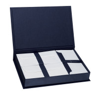 Briefpapierkassette, Blau