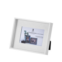 Bilderrahmen für Fotos 10x15 cm, Weiß