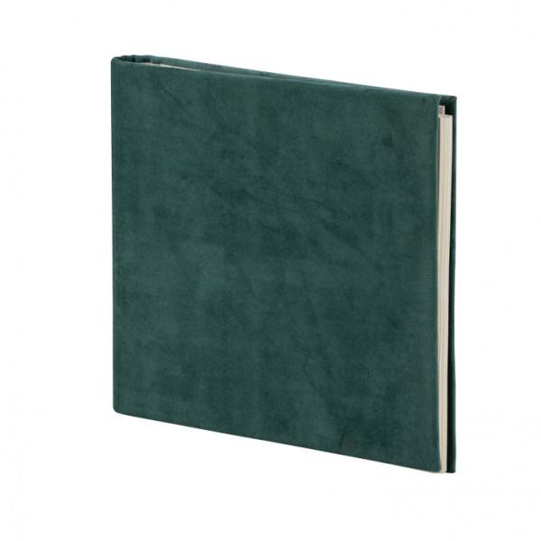 Gäste- und Fotoalbum, Samt, Grün