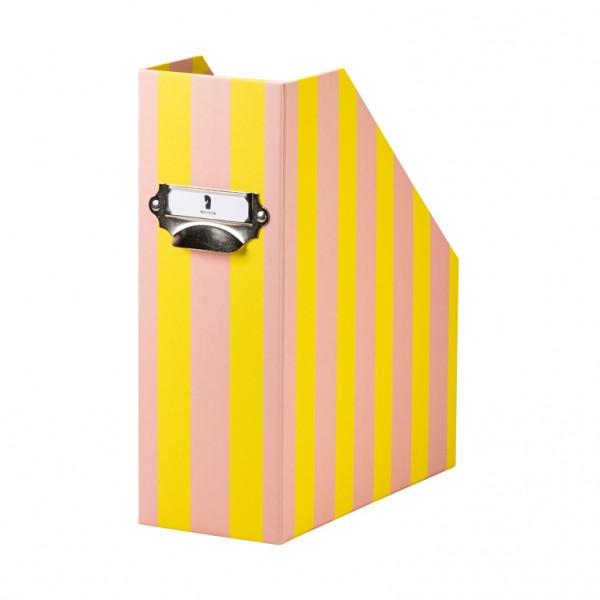 Stehsammler für DIN A4 mit Griff, Sunny Stripes