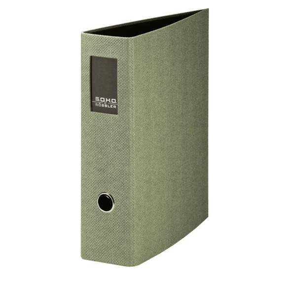 Ordner mit Rückenschild für A4, Salbei-Grün