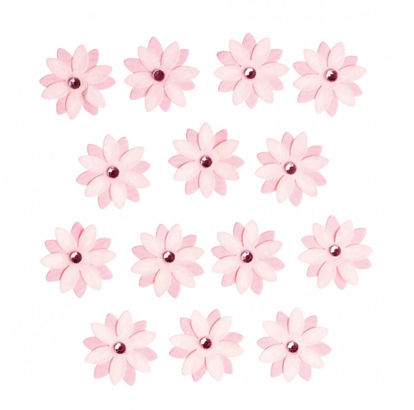 Sticker, Blumen, Rosa