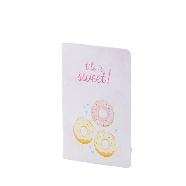 Notizheft A5, Donuts