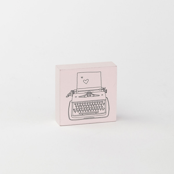 Stempel May & Berry, Schreibmaschine