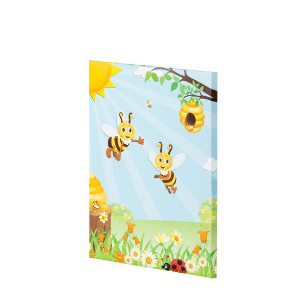 Kinder-Briefpapiermappe mit einer Biene, geschlossene Ansicht