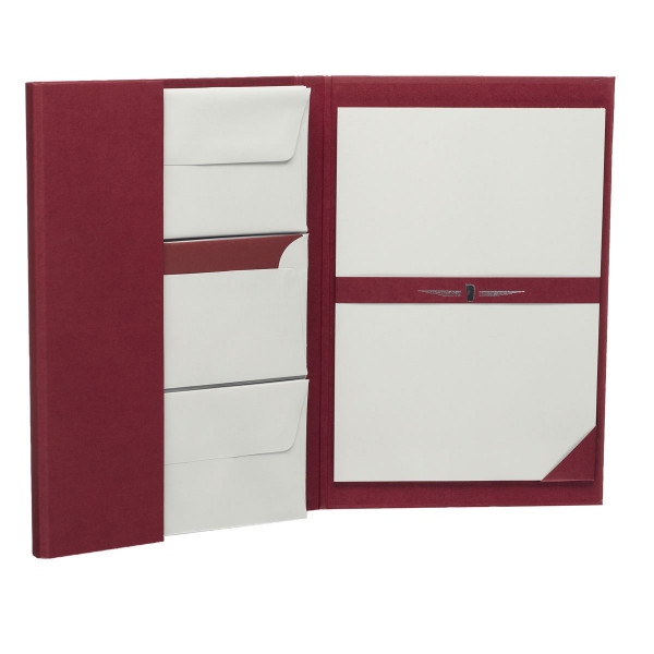Briefpapiermappe A4, Rot