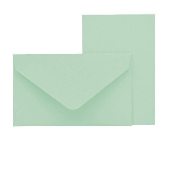 Mini-Karten mit Briefumschlag, Mint