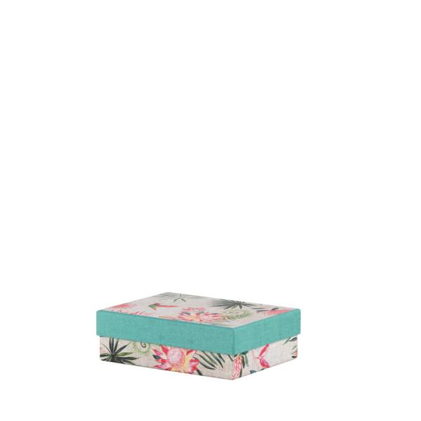 Box, klein, Türkis