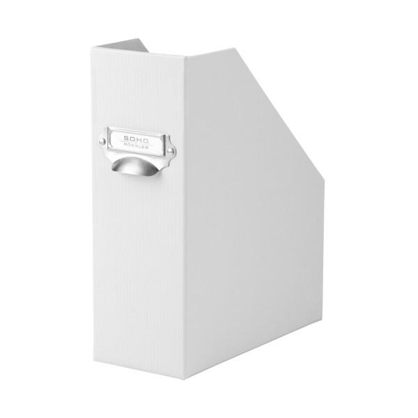 Stehsammler mit Griff für A4, Weiß