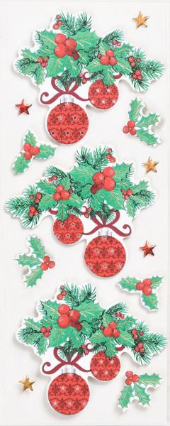 Sticker, Weihnachten, Zweig
