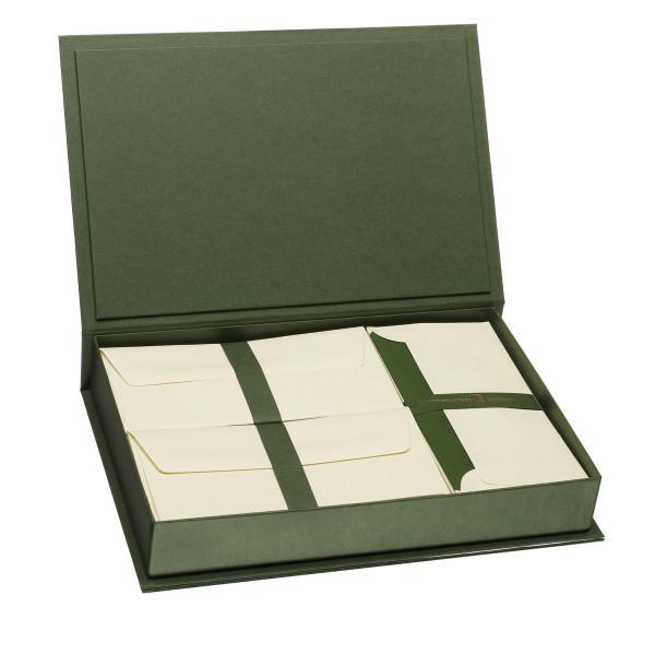Briefpapierkassette, Grün
