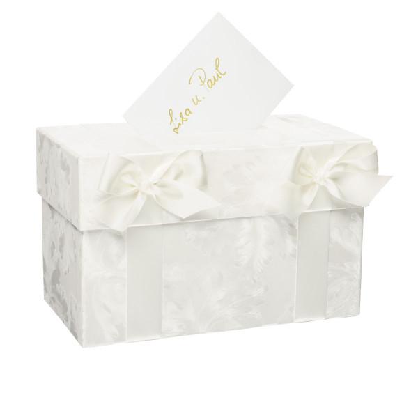 Geldbox / Briefbox mit Schleife, Hochzeit