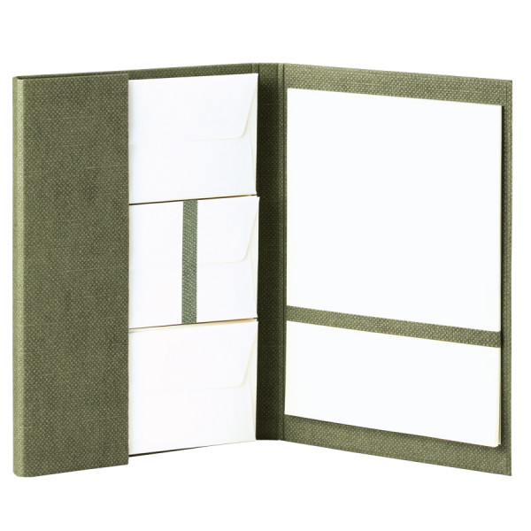 Briefpapiermappe A4, Salbei/Grün