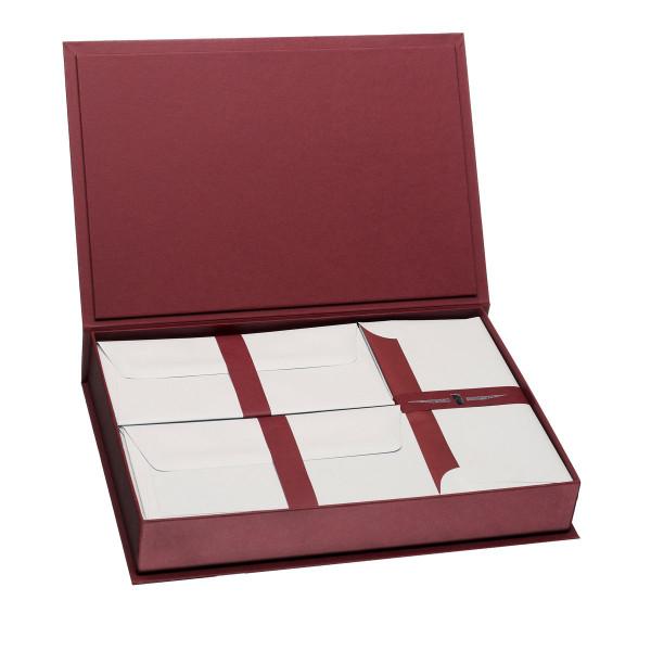 Briefpapierkassette, Rot