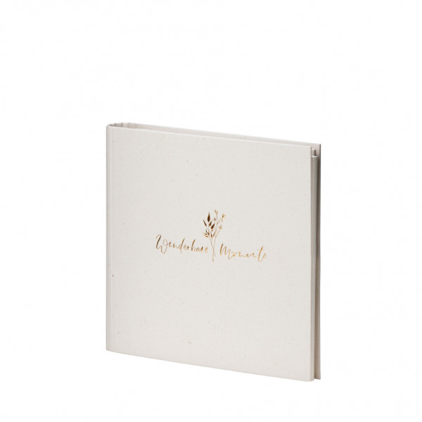 Gäste-/Fotoalbum, wunderbare Momente, Natura Vanilla