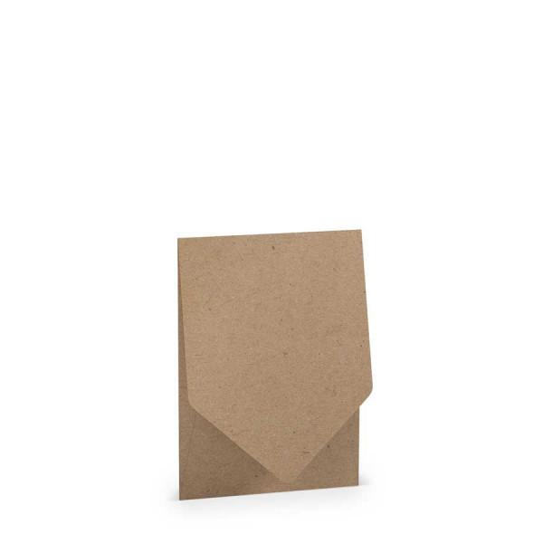 Pocketfold-Kartenset B6, Kraft