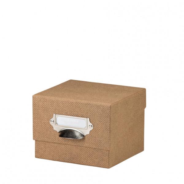 Fotobox, Haselnuss-Braun