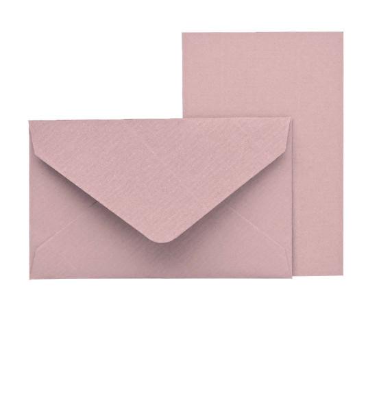 Mini-Karten mit Briefumschlag, Rosa
