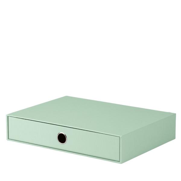 1er Schubladenbox für A4, Mint