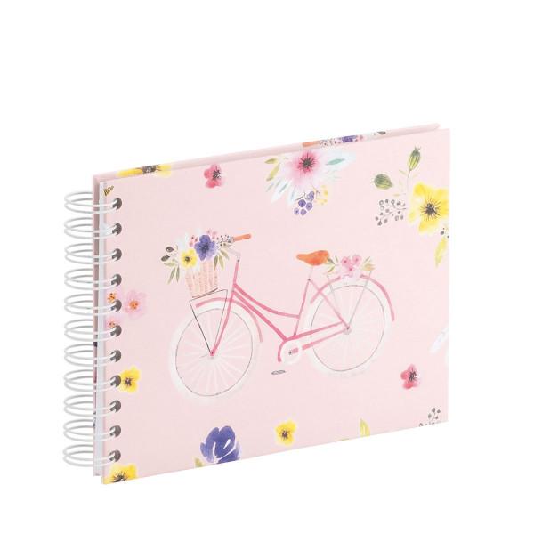 Fotoalbum mit Spiralbindung, klein, Fahrrad