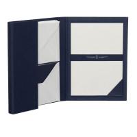 Briefpapiermappe A5, Blau