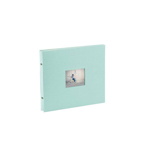 Fotoalbum mit Buchschrauben, Mint