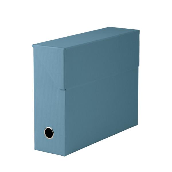 Archivbox für A4, Denim/Blau