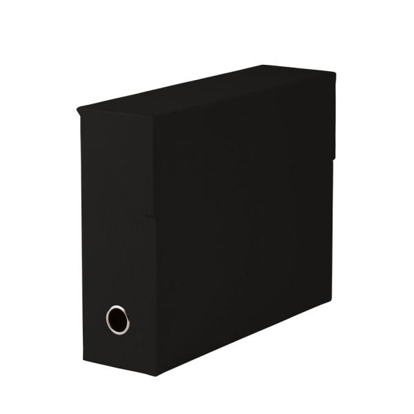 Archivbox für A4, Schwarz