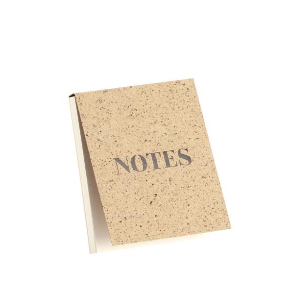 """Notizblöckchen, """"Notes"""", Cacao"""