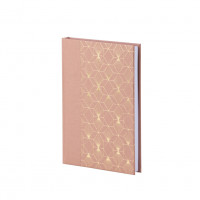 Notizbuch A5, Art Deco, Rosa