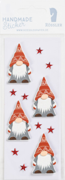 Sticker, Weihnachten, Wichtel